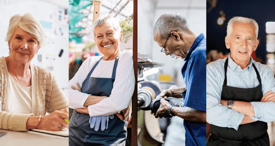 people working longer